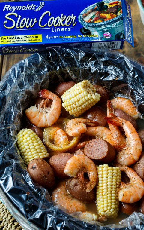 Slow Cooker Low Country Boil