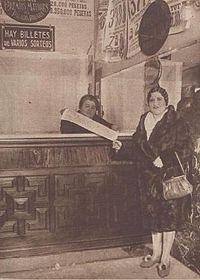 Doña Manolita en 1929