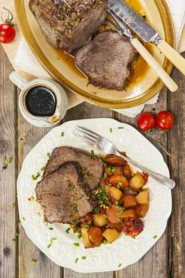 New #recipe from our food columnist Sloane Taylor - Damned Good Pot Roast #potroast #cooking