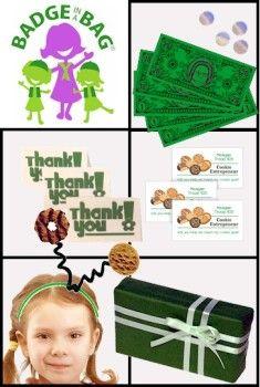 girl scout brownie meet my customers badge ideas