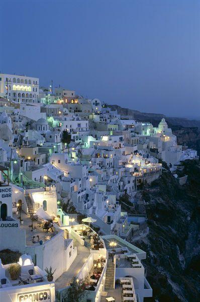 Santorini, Greece - 2008, 2013