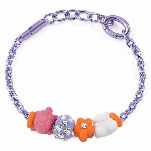Bracciale-Morellato-Colours-Jewels-Fiore-Orso-e-Tartaruga
