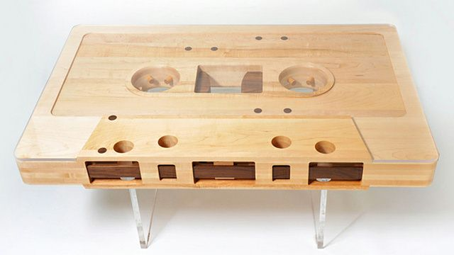 The Mixtape Will Live Forever Through This Coffee Table