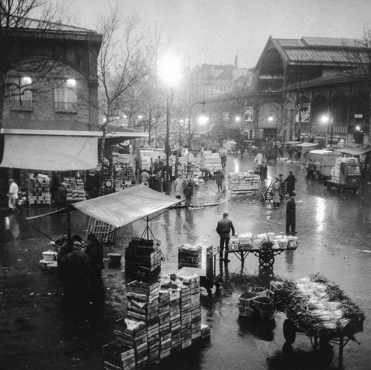 Les Halles Paris 1950 Photo: Paul Almasy