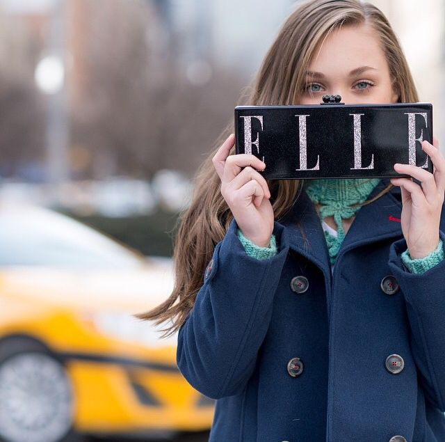 Added by @hahaH0ll13 Dance Moms Maddie Ziegler at NY Fashion Week for Elle