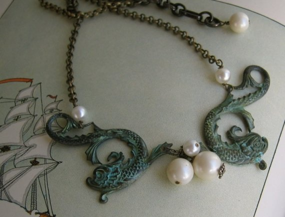 Siren necklace from 2007
