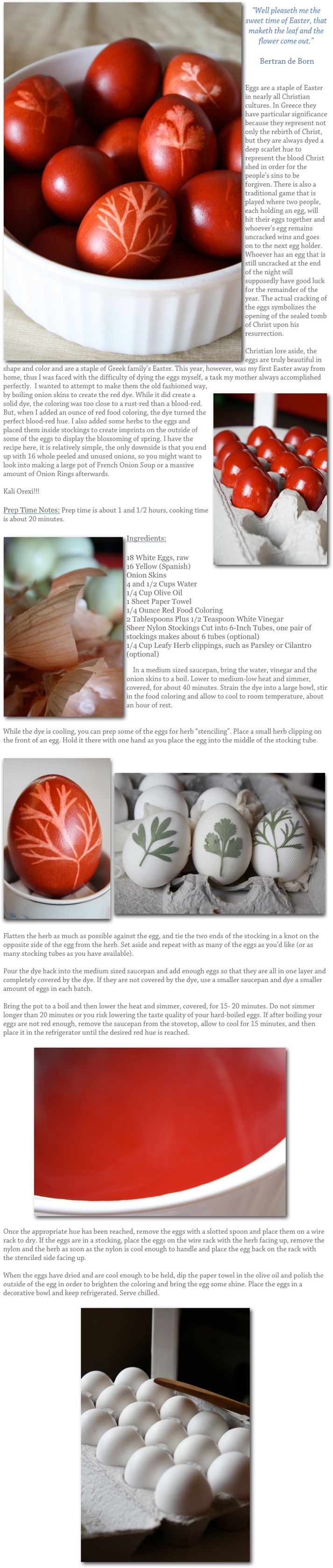 Onion dyed Easter eggs in the Greek methodOrthodox Easter, 6002814 Pixel, Diy Easter, Dyed Easter, Die Easter, Easter Eggs, Pretty Easter, Greek Easter, Holiday Crafts