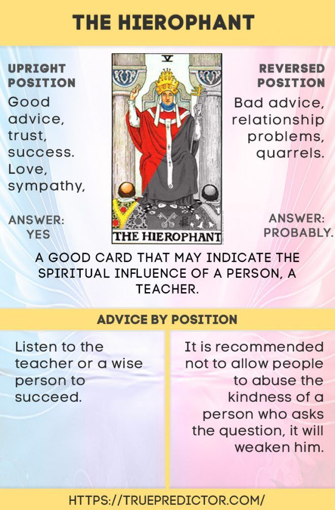 The Hierophant Tarot Card Meaning In Readings Tarot Meanings