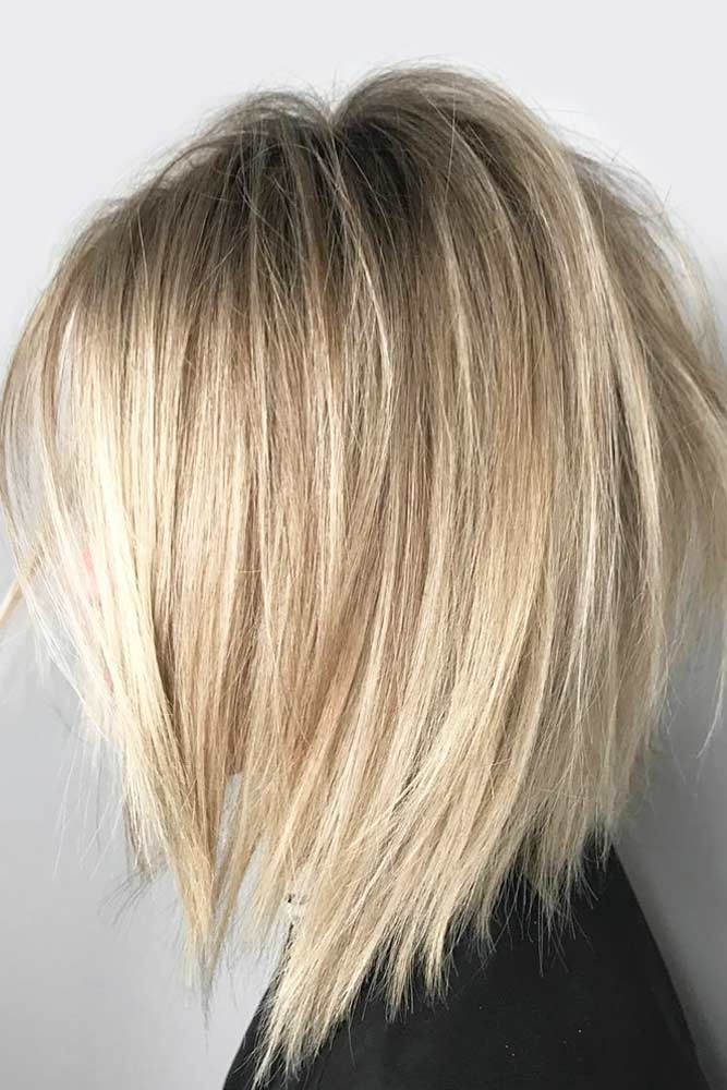 Medium length hairstyles are so popular because they are just the perfect – no
