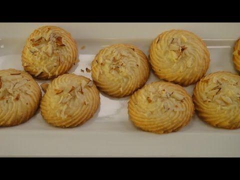 Vanilla Cookies | Vegetarian Video Recipe by chef Sanjeev Kapoor.