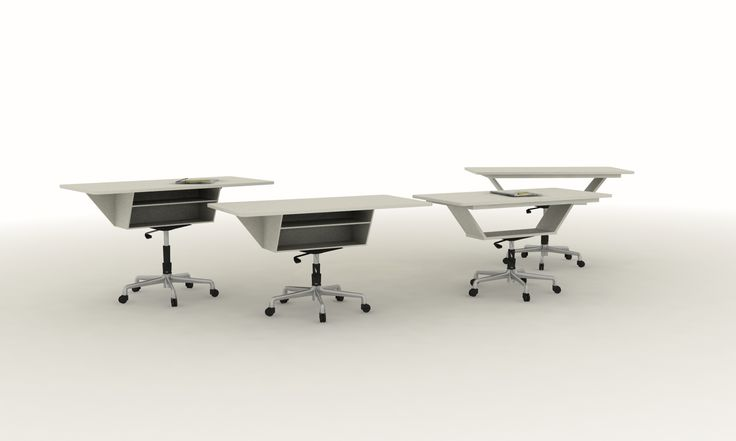 Enjambre - School Furniture Collection Teacher's Desk, variable height. Product design
