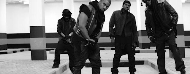 Kanye West x Wale x Pusha T x Big Sean, Nas, Eminem, Curren$y, Mac Miller x Pharrell, Die Antwoord, Sendemast