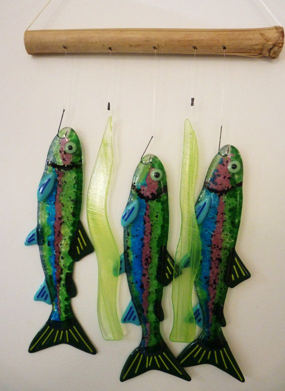 Hey, I found this really awesome Etsy listing at https://www.etsy.com/listing/102692714/rainbow-trout-wind-chime
