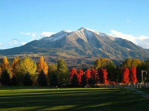 Mt. Sopris | Mount Sopris, a twelve-teener, is a twin-summit mountain in the northwestern Elk Mountains range of the Rocky Mountains
