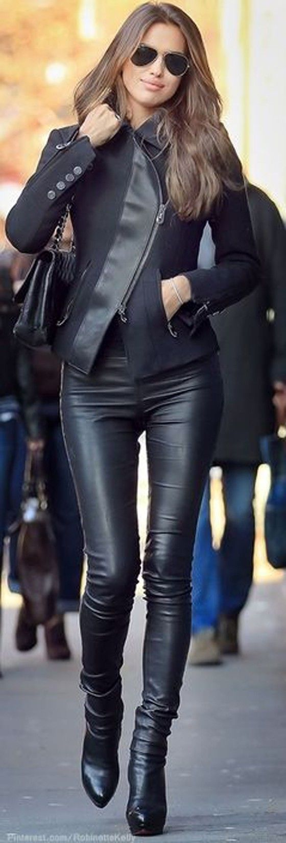 Best 25+ Leather leggings ideas on Pinterest | Leather pants outfit Black leather pants and ...