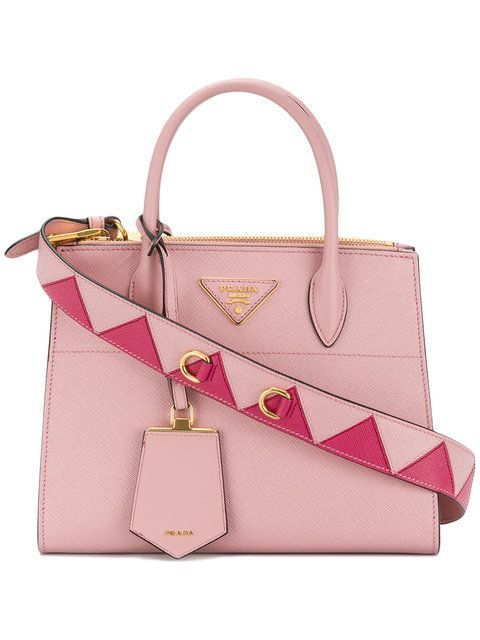 8997de47b368 Prada small Paradigme tote - Sale! Up to 75% OFF! Shop at Stylizio · Leather  Tote HandbagsPrada ...