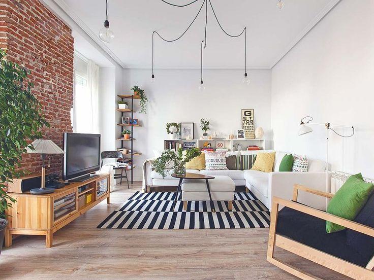 Un antiguo piso rehabilitado lleno ideas modernas:
