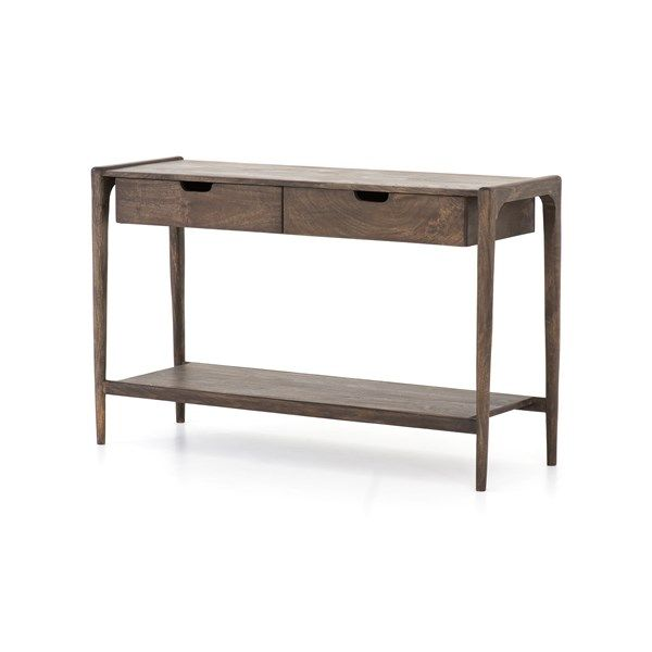 Valeria Console Table Four Hands Look Book Console Table Console Storage Modern Console