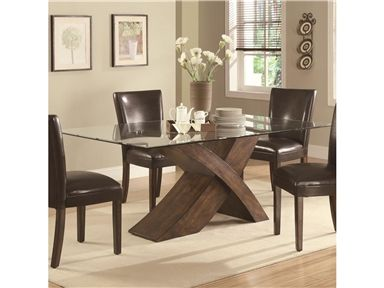Shop For Coaster Dining Table, 103051, And Other Dining Room Dining Tables  At Wright