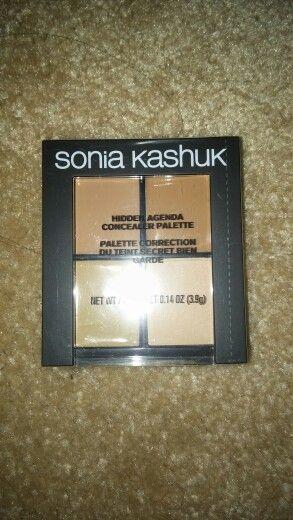Sonia kashuk hidden agenda concealer palette - medium 08 - sealed ..$4 shipped