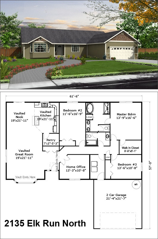 44 best images about single story floor plans on pinterest for House plans with bay windows
