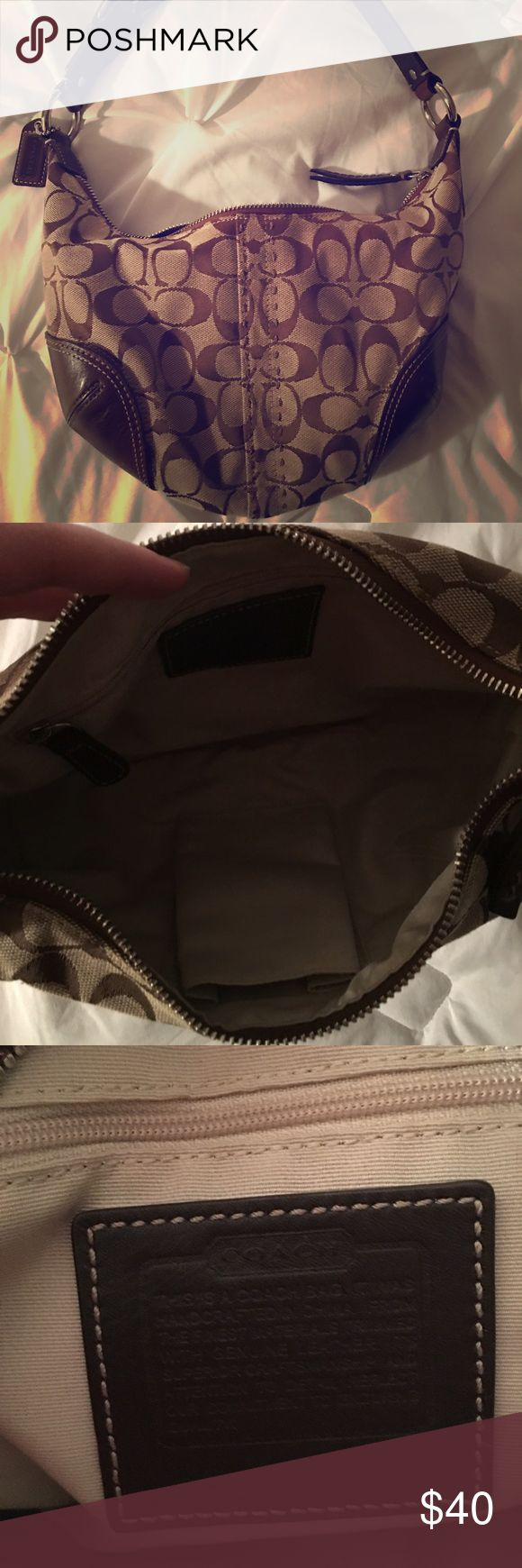 Coach hobo bag Brown coach hobo bag, EUC Coach Bags Hobos