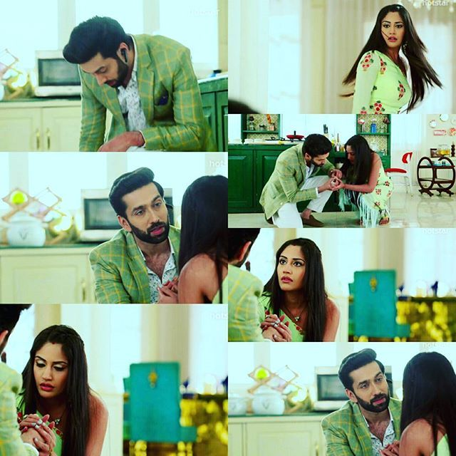 Anni thought he's finger is cut..but he was faking it.. #SSO has become a Romeo.. love him.. #ShivIka #UpcomingEpisode #Ishqbaaaz  Pic credit - WARSHA (TWITTER)