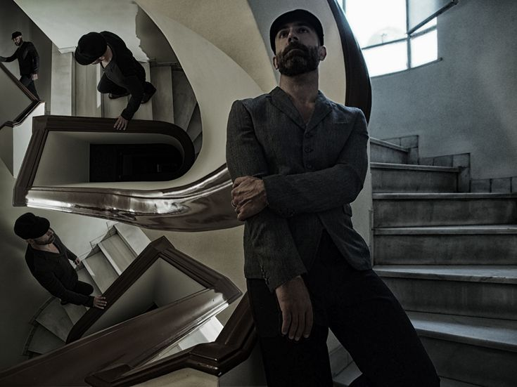 Bi color jacket and pants, comme des garcons homme plus number3store.com  Hat, Antony Peto Paris