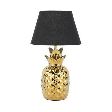Bordslampa ananas