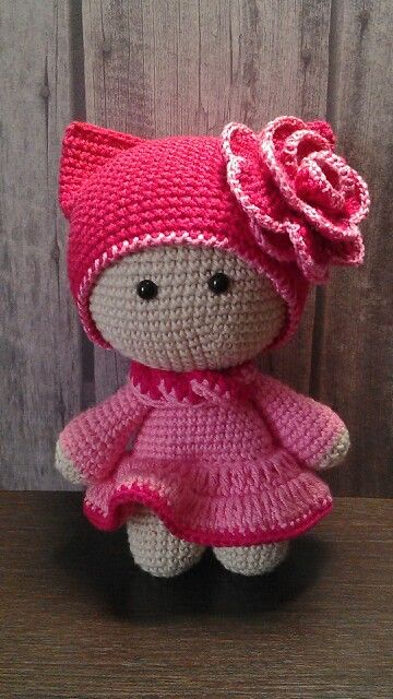 CROCHET - BIG HEAD DOLL - BABYDOLL YO-YO - Пупсик йо-йо