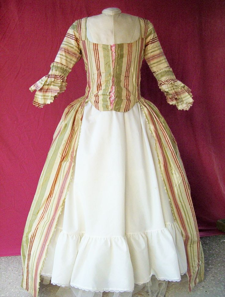 Front of Robe a l'Anglais c.1775