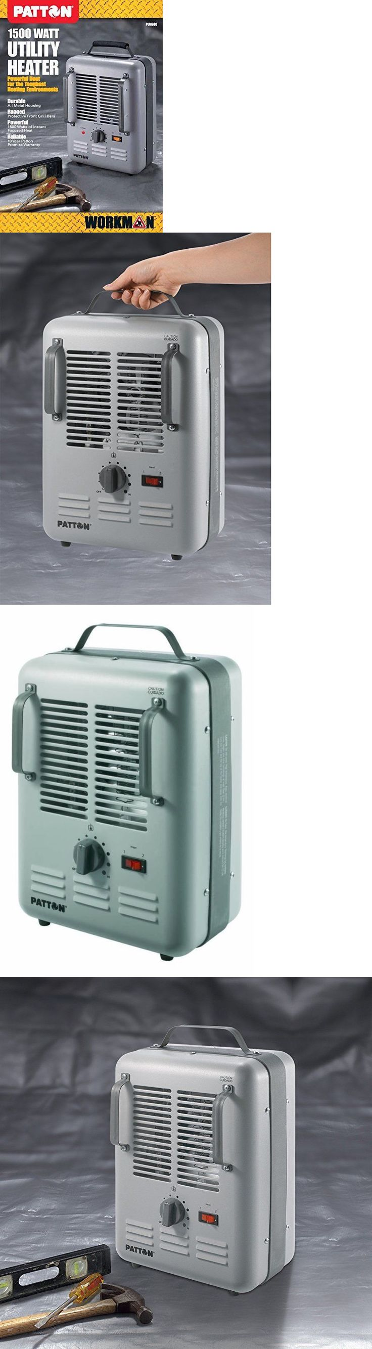 Space Heaters 20613: Greenhouse Electric Heater Automatic Thermostat Handle Portable Space Heat Safe -> BUY IT NOW ONLY: $32.35 on eBay!