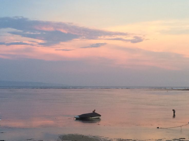 Sanur at sunset