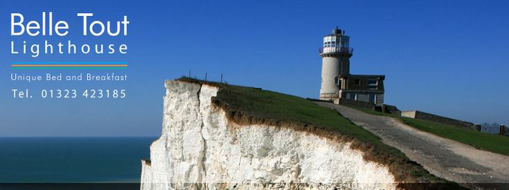Belle Tout lighthouse, Beachy Head, UK... 360 degree views over English Channel and surrounding countryside.