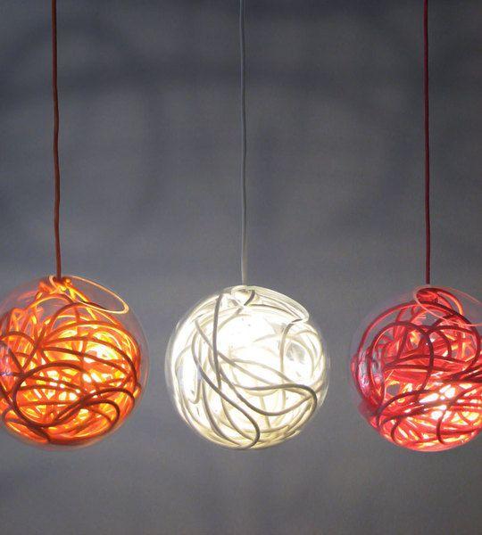 Cord salad lamp, €298Pendants Lamps, Free Willis, Colors Cords Lights, Cords Salad, David Danneberg, Pendants Lights, Design Blog, Style Blog, Hanging Lamps