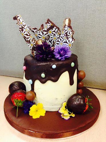 Chocolate cake made by Kitchen Fairies Leeds