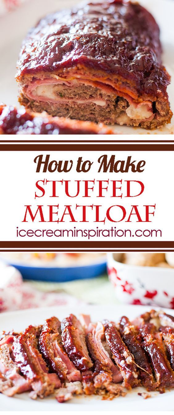 How to Make Stuffed Meatloaf. Sunday dinner just got awesome! Thinking to stuff with grilled zucchini, peppers, red onions,