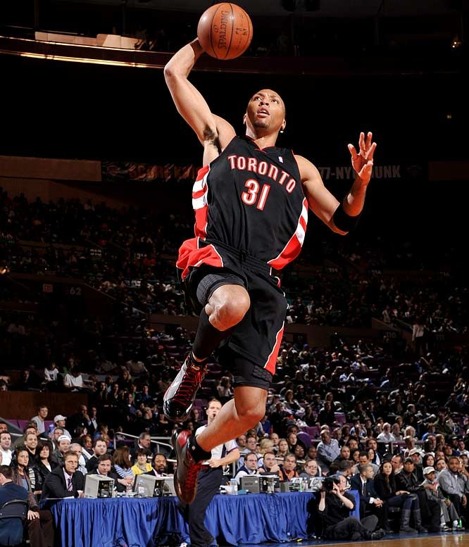 Shawn Marion as a Raptor
