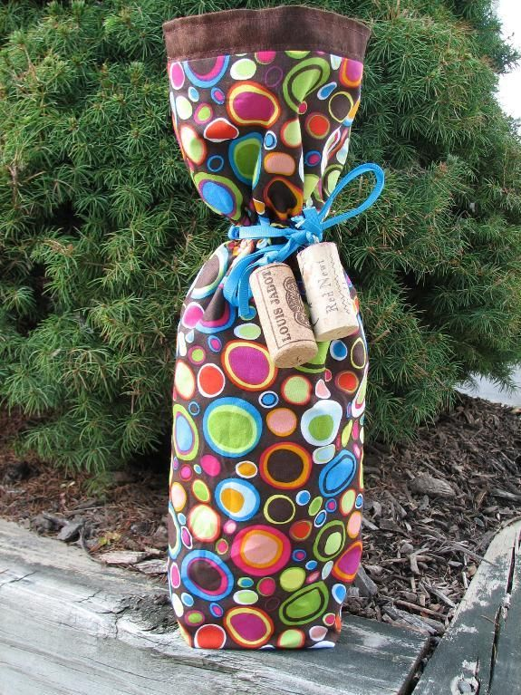 Cute Wine Bottle Bag
