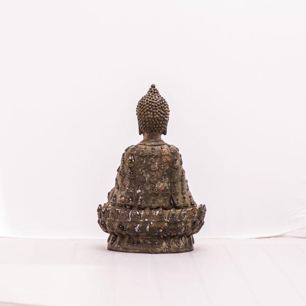 Buddha Figur aus Bronze www.dixing-shop.de
