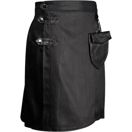 Modern Black Kilt - DR-1350 by Medieval Collectibles