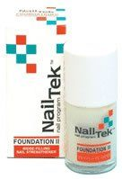 Nail Tek Foundation II Ridge Filling Nail Strengthener for Soft Peeling Nails 0.5oz