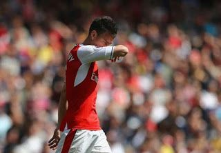 Laurent Koscielny will serve a three-match suspension after his wrongful dismissal claim was rejected by the Football association and the...