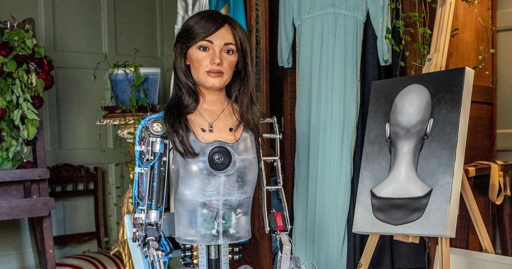 Artificially Intelligent Robot Artist Racks Up over $1.2 Million in Sales Before First Solo Show