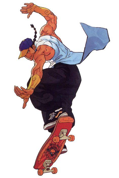 Yun Lee - Characters & Art - Street Fighter III