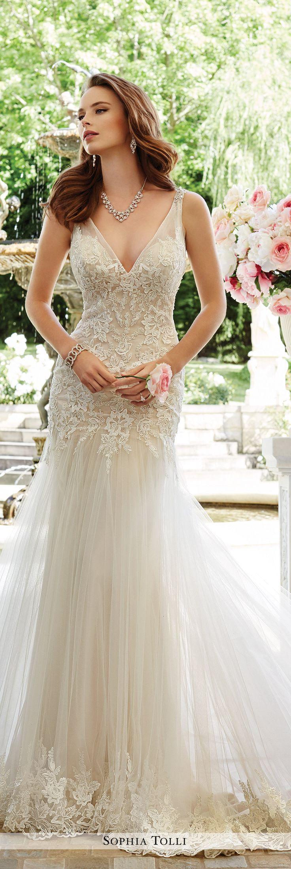 25 best ideas about tulle wedding dresses on pinterest for Sophia tulle wedding dress