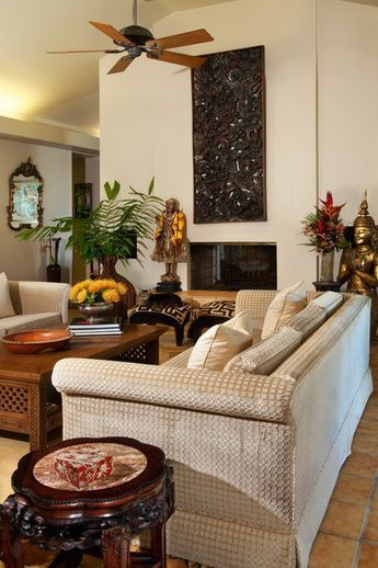 26 Sleek And Comfortable Asian Inspired Living Room Ideas Part 78