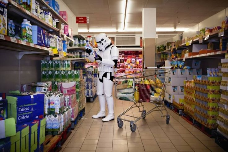 The Daily Life of Imperial Stormtroopers – Fubiz Media