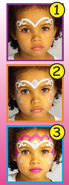 #MAQUILLAGE #PRINCESSE POUR #ENFANT