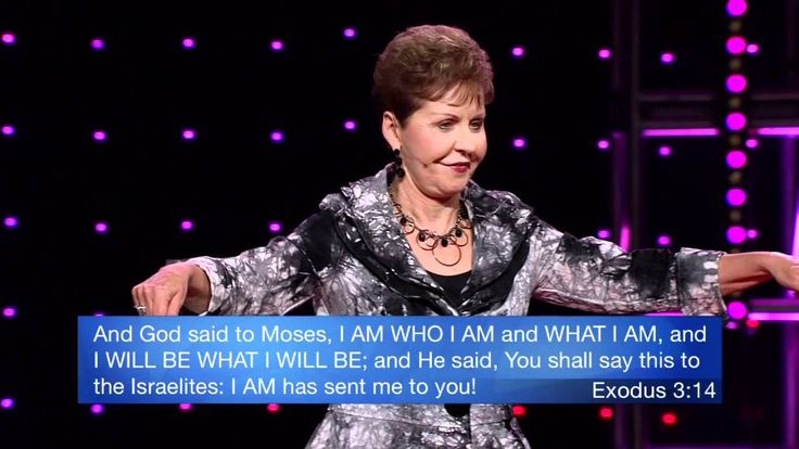 Joyce Meyer - Moving Beyond Worry and Anxiety. i love her so much. i like when my toes get stepped on